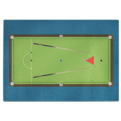 Snooker Billiards Tempered Glass Chopping Board